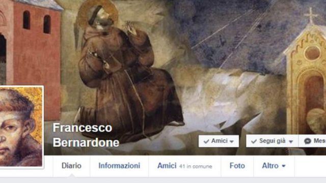 San Francesco sbarca sui social