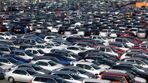 mercato dell'auto in calo