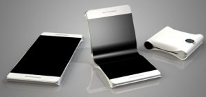 smartphone pieghevole i progetti delle aziende
