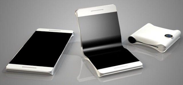 smartphone pieghevole i progetti delle aziende 3