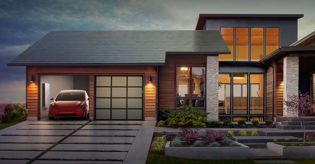 tetto solare tesla