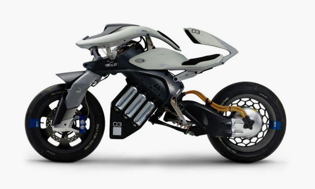 Yamaha Motoroid la moto intelligente 2