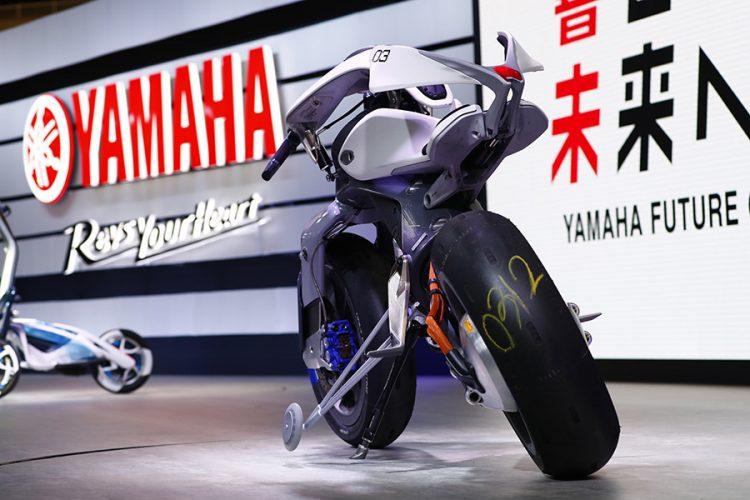 Yamaha Motoroid moto intelligente