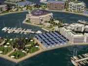 città galleggianti in mezzo al pacifico
