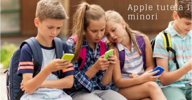 Apple-tutela-i-minori