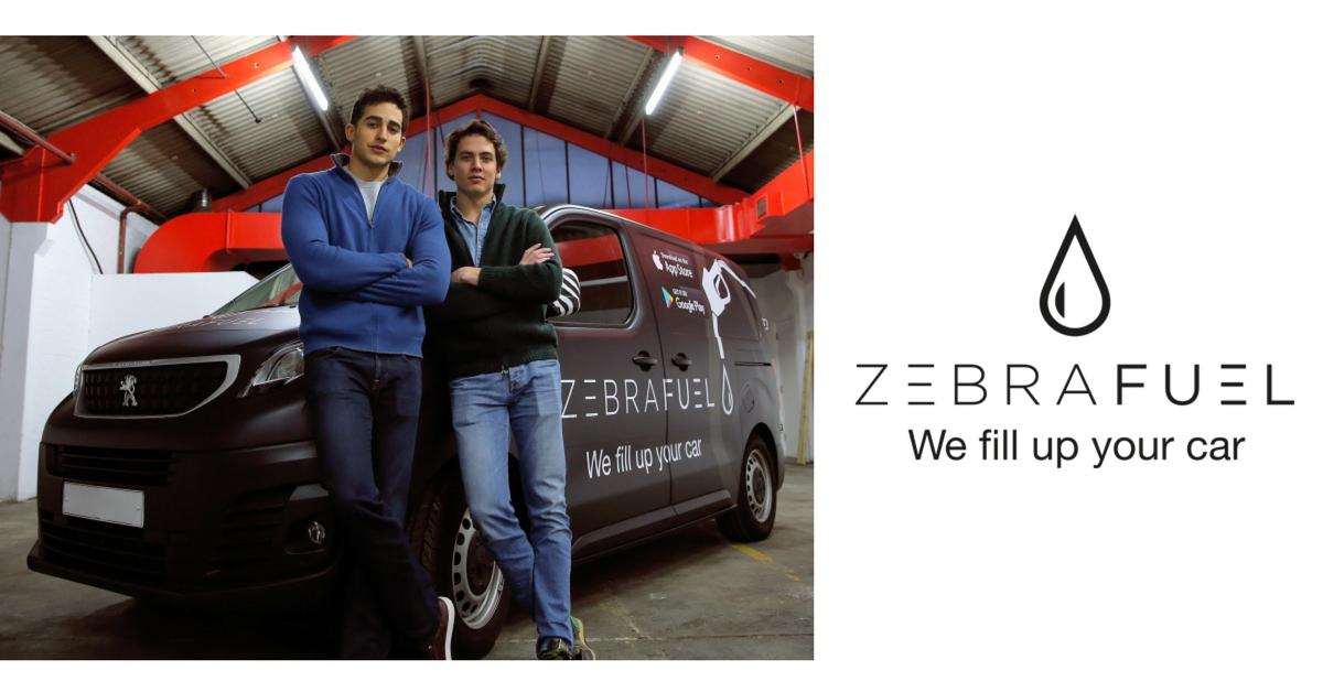 zebra-fuel-start-up-carburante-domicilio