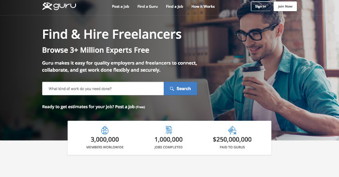 guru freelance