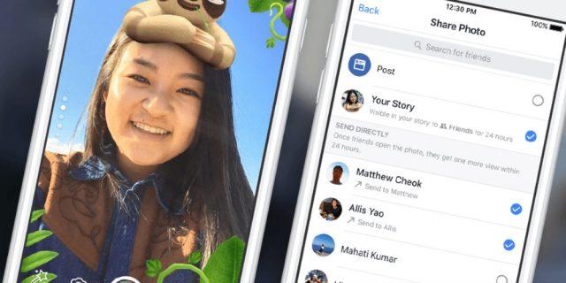 Facebook Stories 2018: nuove funzionalità, introdotti i boomerang come su Instagram