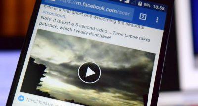 Facebook salva i video che non pubblichiamo