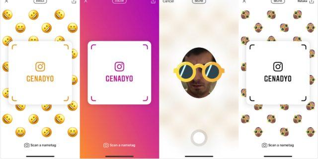 Instagram funzionalità 2018: Nametags per rispondere ai Snapcode di Snapchat (VIDEO)