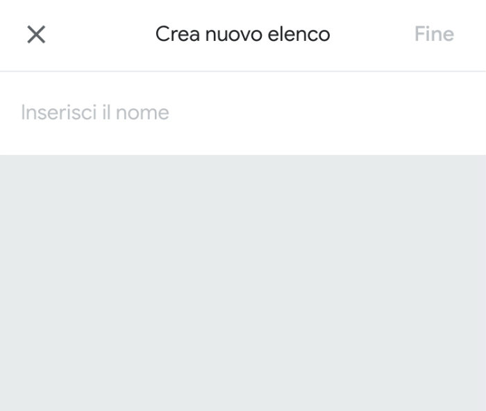 come creare un elenco su Google Tasks