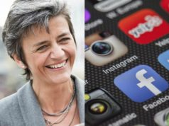 Facebook e Google nel mirino del commissario antitrust europeo, Vestager