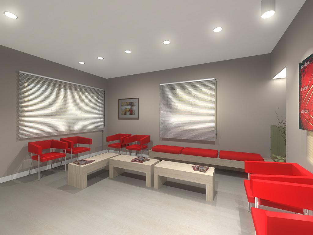 Come arredare la sala d attesa di uno studio for Arredare la sala