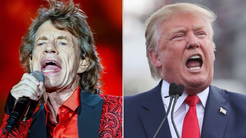 I Rolling Stones avvertono Trump: