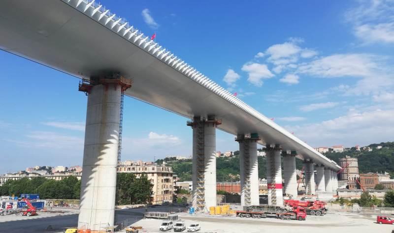Il Ponte di Genova torna ai Benetton