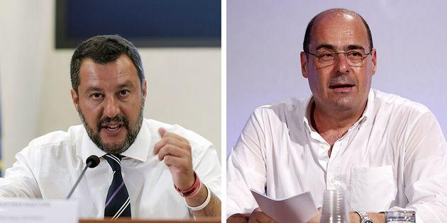 """Riaperture, Zingaretti contro Salvini: """"La Lega cavalca la stanchezza degli italiani"""""""