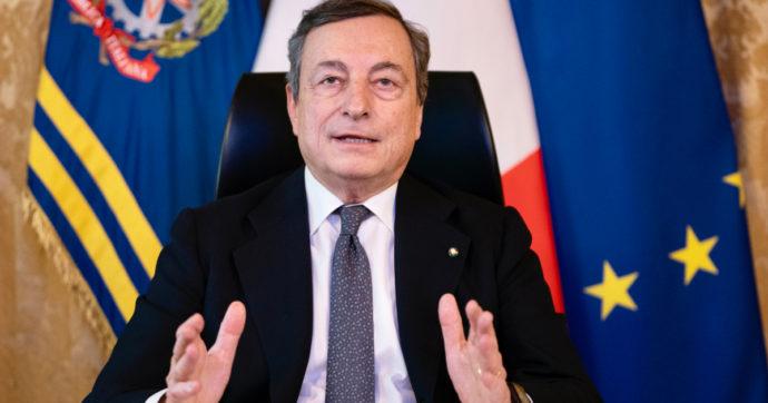 """Covid, Draghi parla agli italiani: """"Massima allerta, ma ne usciremo"""""""