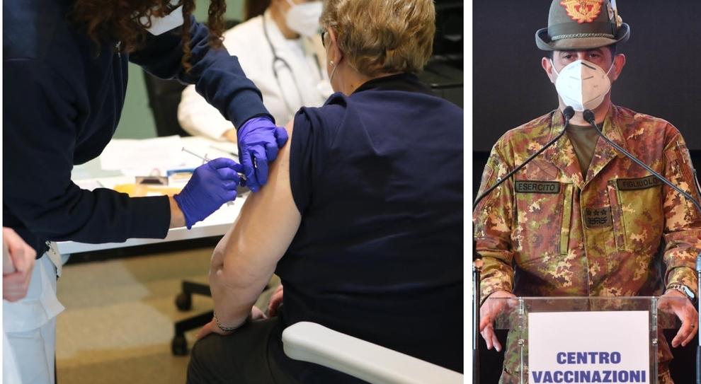 """Figliuolo fissa l'obiettivo: """"L'80% degli italiani vaccinati entro settembre"""""""