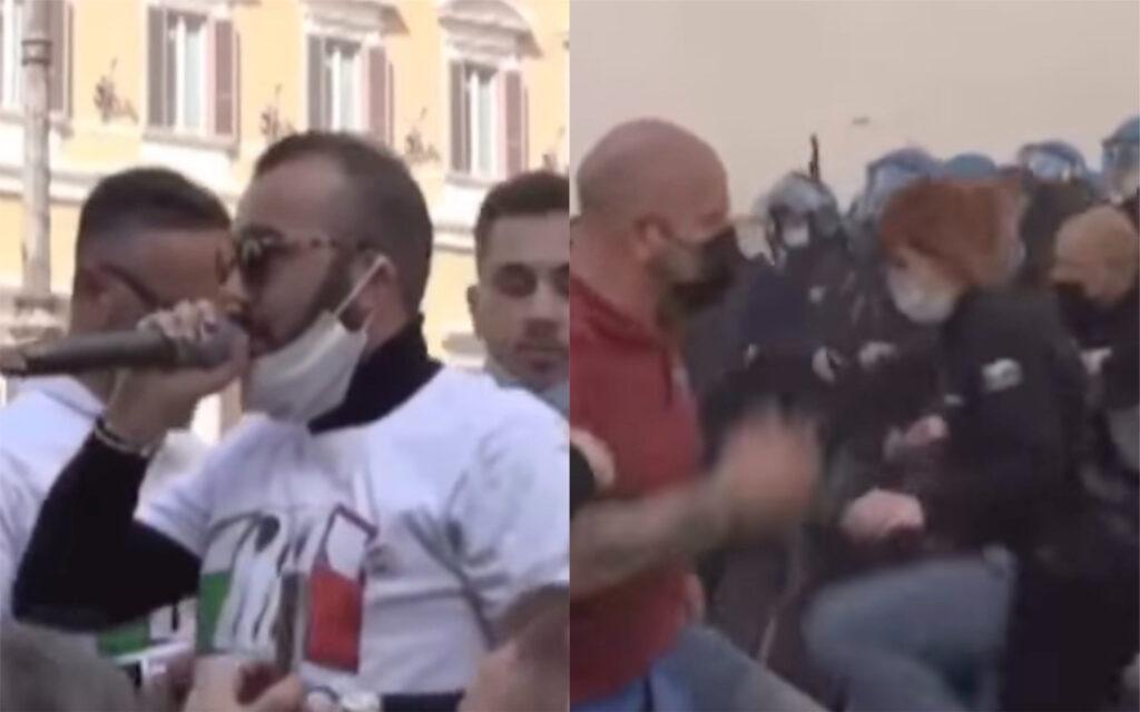 Umberto Carriera, il ristoratore amico di Salvini che ha dato il là alle violenze di piazza