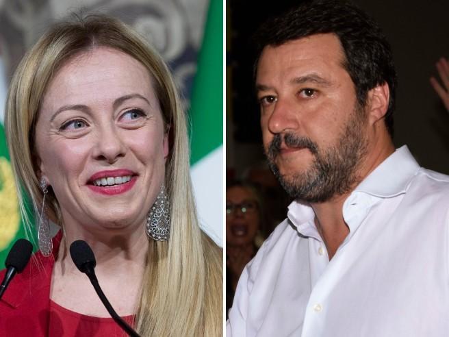 """Meloni contro Salvini: il piano FdI per """"stanare"""" la Lega sul coprifuoco"""