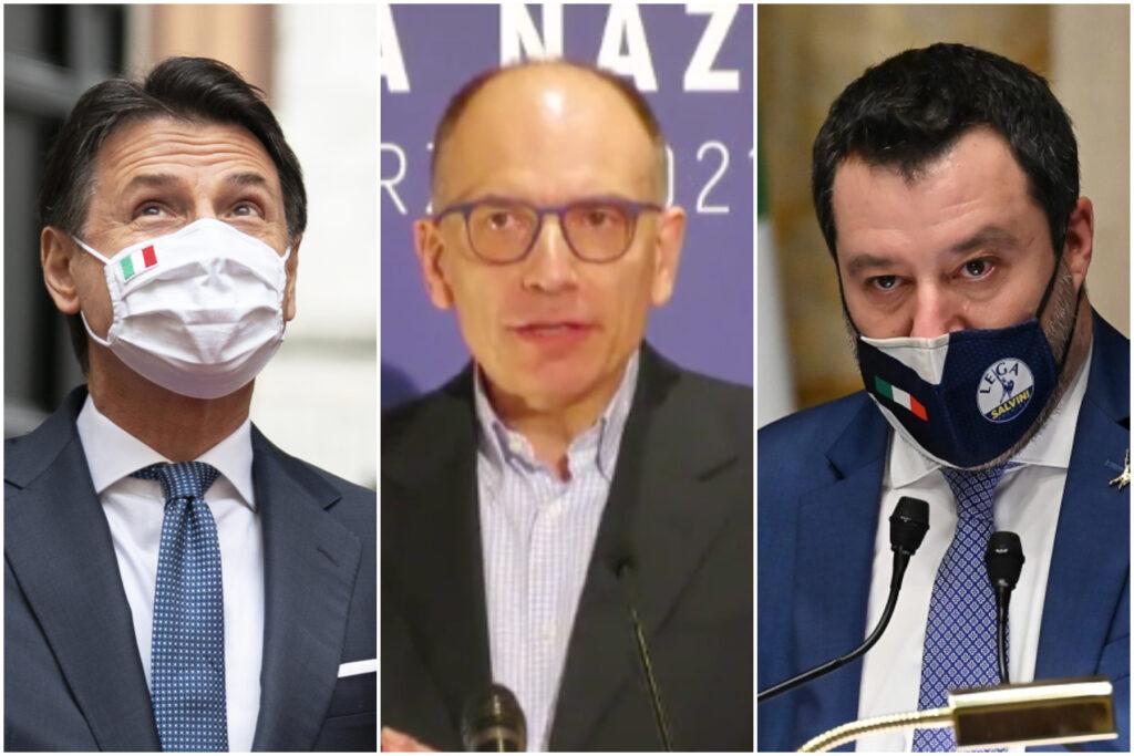 Effetto Conte sul M5S, male Salvini: così i partiti dopo 2 mesi di governo Draghi