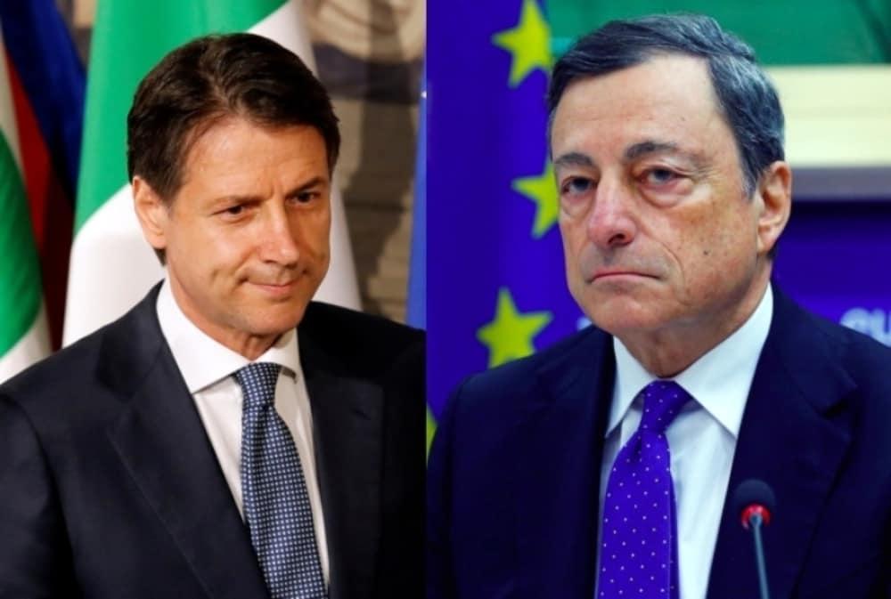 """Conte avverte Draghi: """"Difficile gestire un governo con una maggioranza così larga"""""""