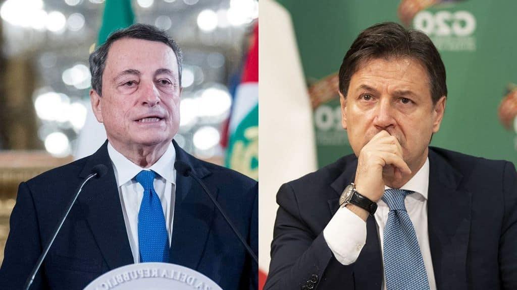 Sondaggi, Conte supera Draghi: è lui il politico più amato dagli italiani