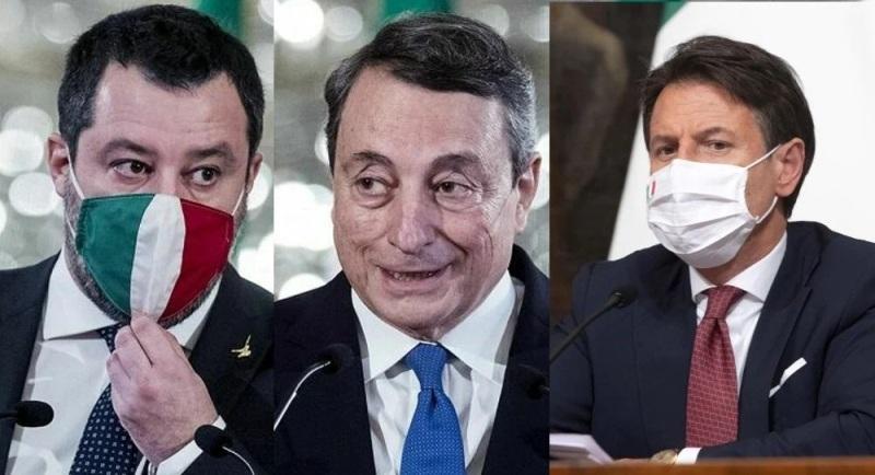 Gli italiani stanno con Draghi: 8 su 10 dicono sì all'obbligo vaccinale