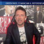 Andrea Scanzi attacca gli intellettuali di sinistra contrari al green pass