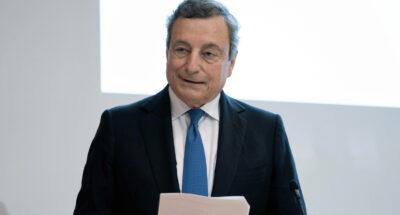 Draghi preoccupato dal cambiamento del clima