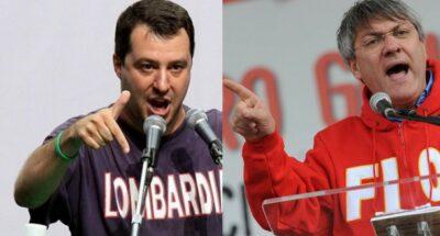 Salvini e Landini chiedono tamponi gratis per i lavoratori