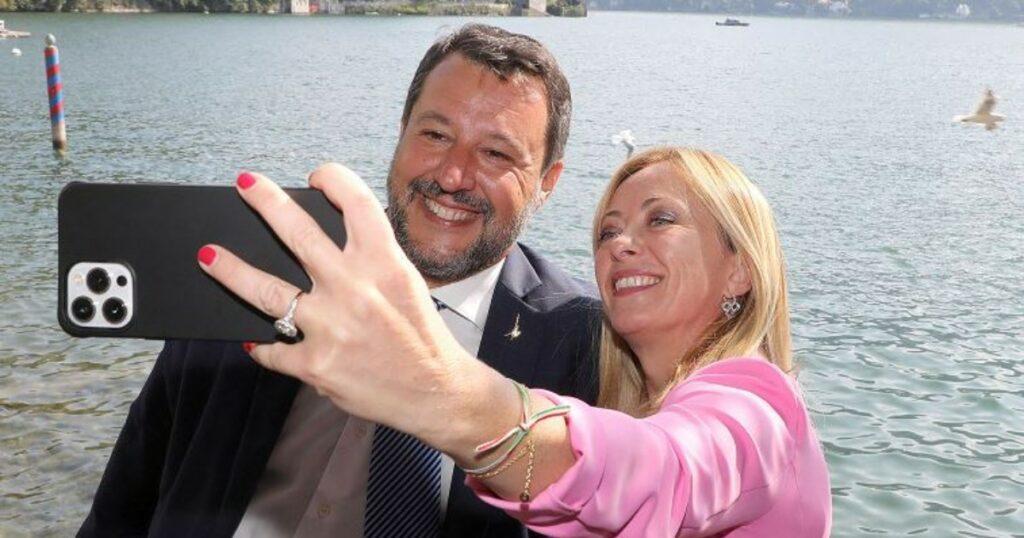 """Prove di pace tra Salvini e Meloni: """"Governeremo insieme il Paese"""""""