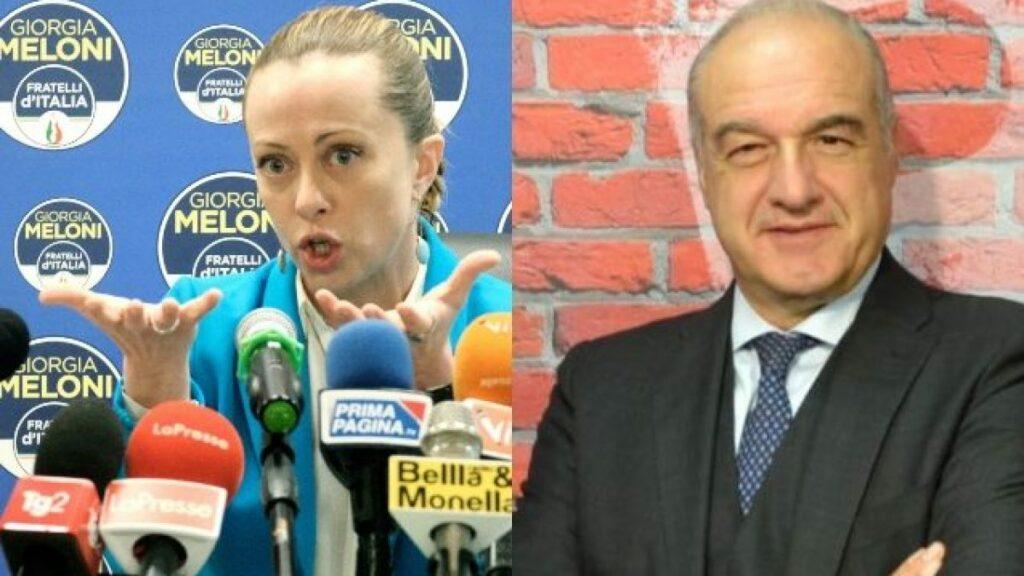 Gaffe e fughe dai confronti: il disastro Michetti firmato Giorgia Meloni