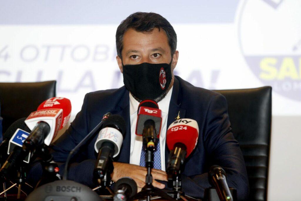 """Salvini: """"Caso Morisi? Una schifezza mediatica, i giornalisti sbattono il mostro in prima pagina"""""""