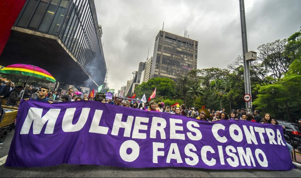 The Biggest Protest lead by Women In Brazilian History: #Elenão