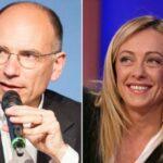 Sondaggi negativi per Salvinie Meloni e sorpresa Pd