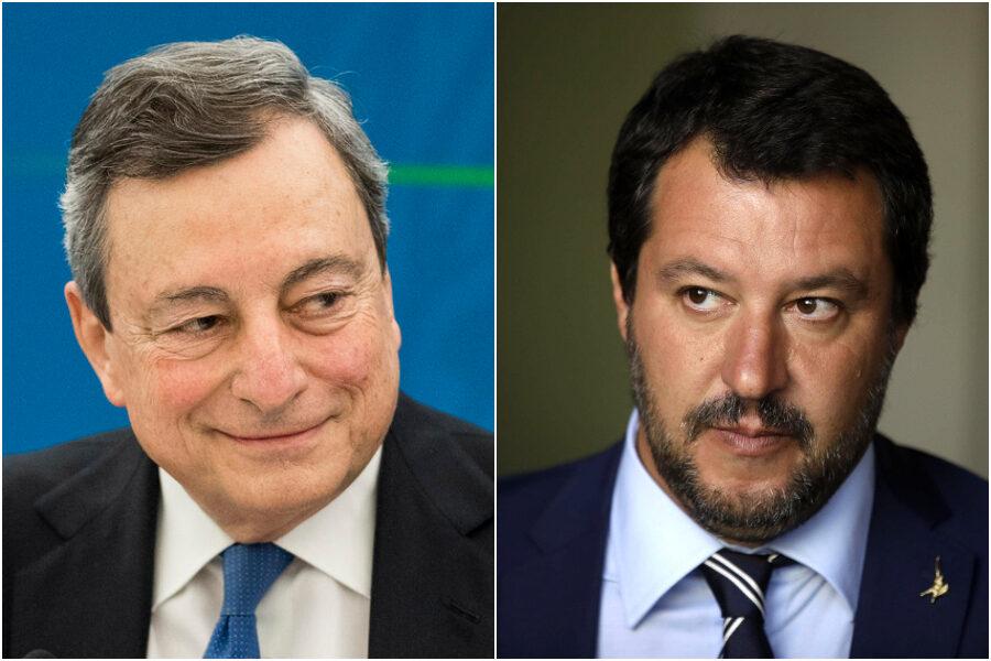 Draghi, schiaffo in faccia a Salvini: nessuna retromarcia sul Green pass